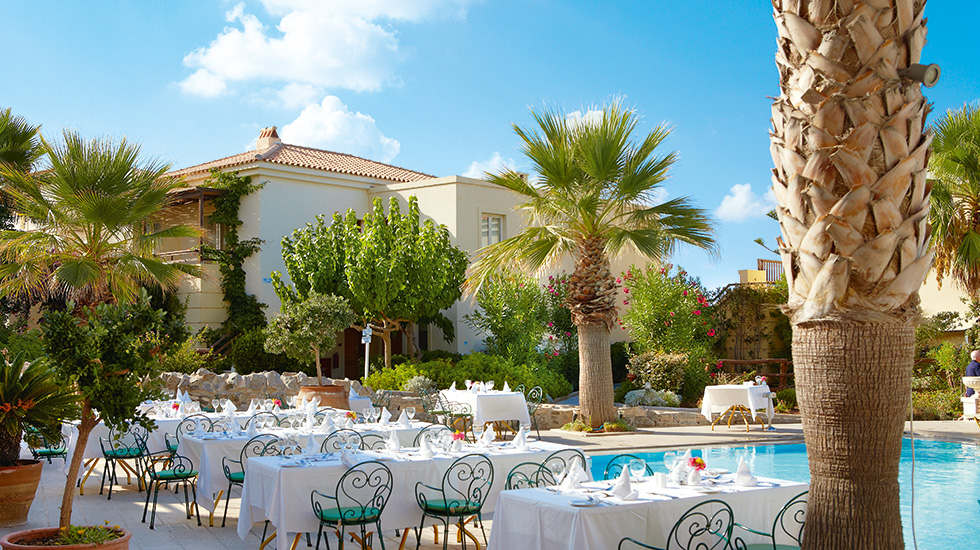 All inclusive dining club marine palace crete