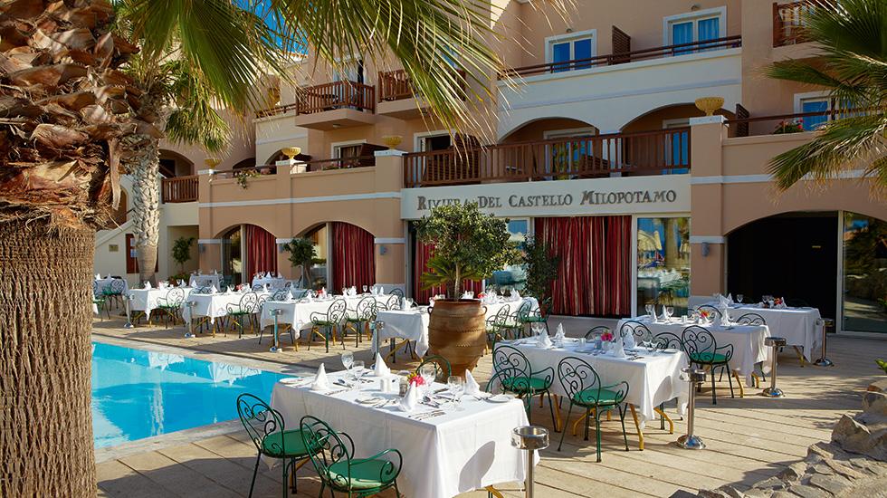 Mediterranean Gourmet Restaurant Club Marine Palace Crete