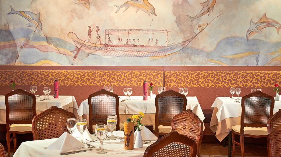 Fine All Inclusive dining in Crete Club Marine