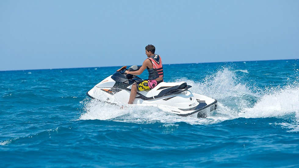 Watersport activities club marine palace crete