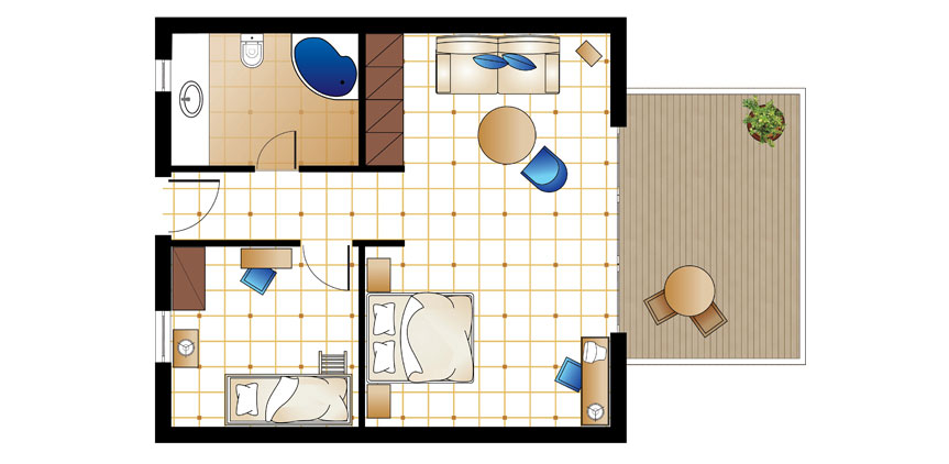 club-marine-palace-and-suites-first-row-family-bungalow-suite-floorplan