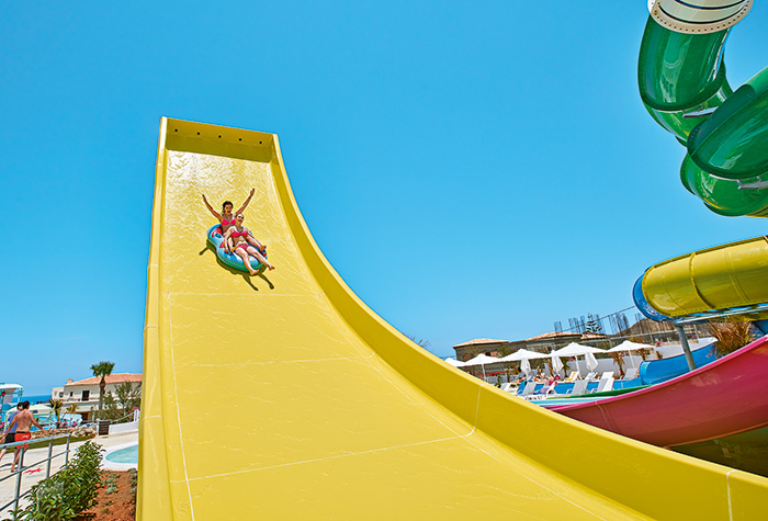 Hotel-with-Water-Slides-in-Crete-Greece
