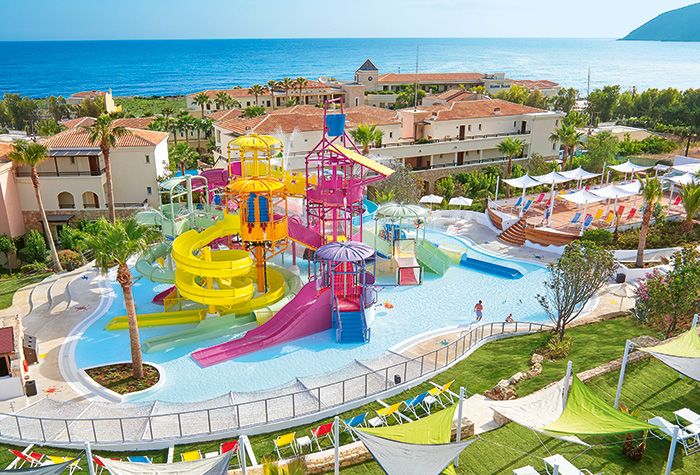 Hotel-with-Water-Slides-and-Aqua-Park-Crete-Greece