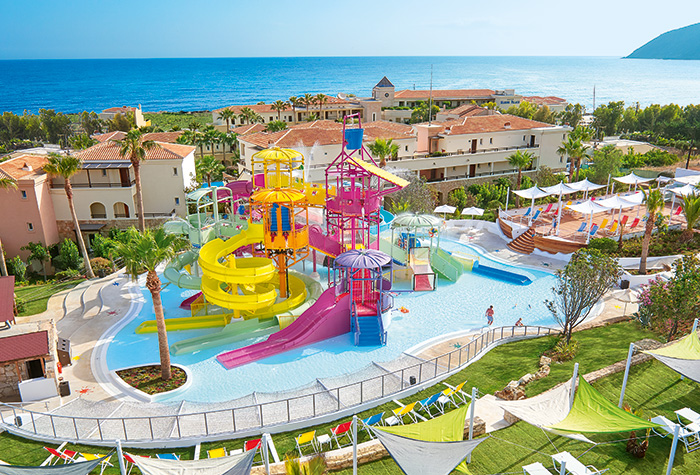 Hotel-with-Water-Slides-Greece