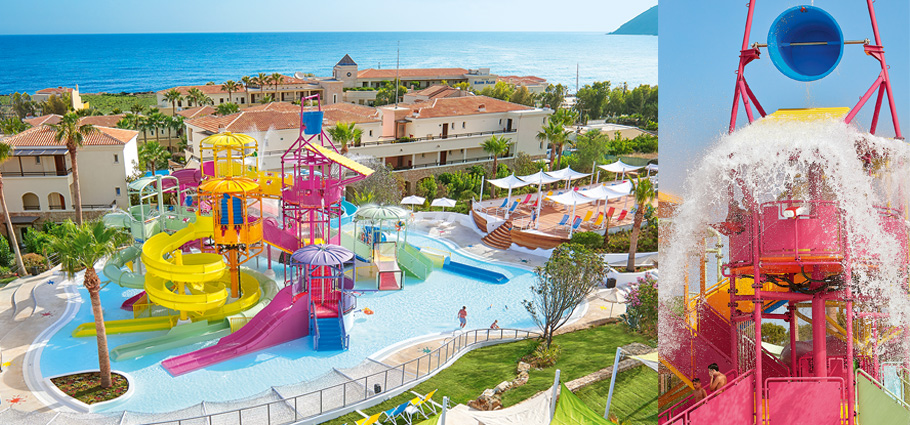New-amazing-Aqua-Park-with-Waterslides-in-Crete-Greece